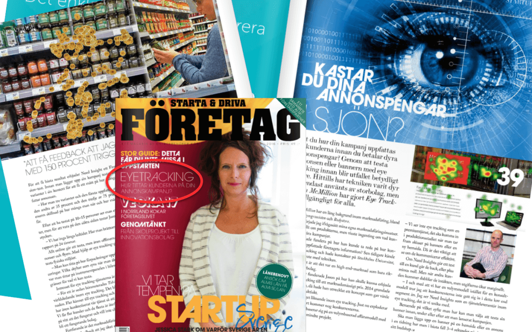 Intervju i tidningen Starta & Driva Företag