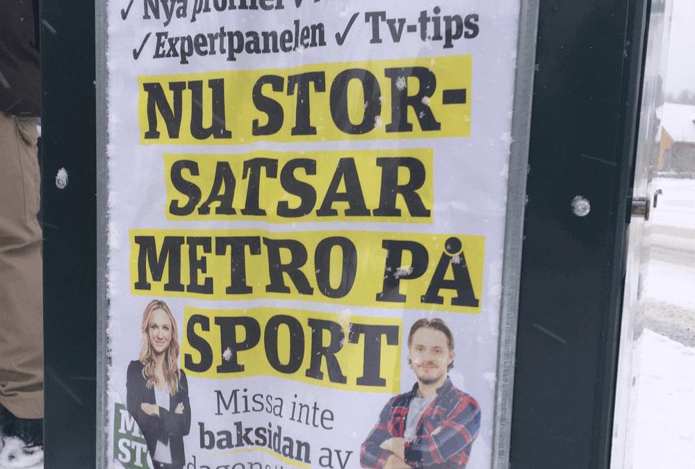 Metro kommunikationsmiss