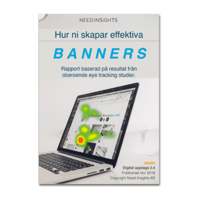 Omslag Rapport Effektiva Banners 2.4