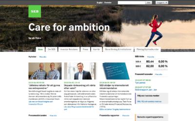 SEB skriver om Need Insights på sin officiella site
