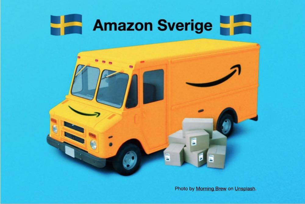 Amazon lanserar i Sverige hösten 2020